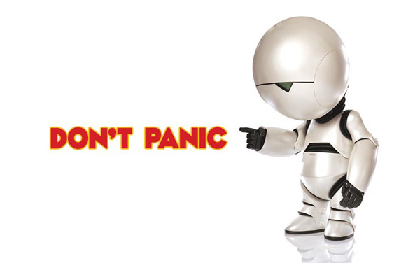 Don't panic! Marvin's here to save your portfolio from complete meltdown. Or not.