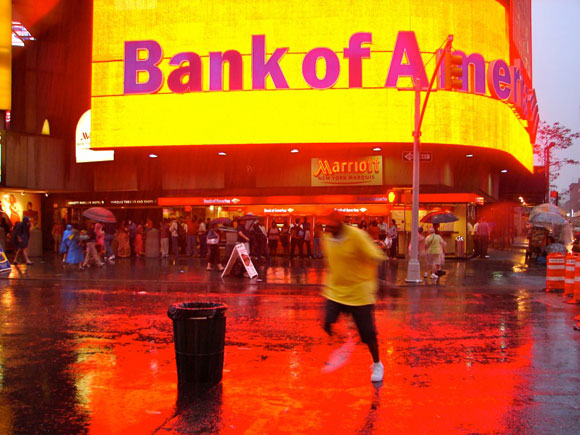 Bank of America, Time Square, New York City