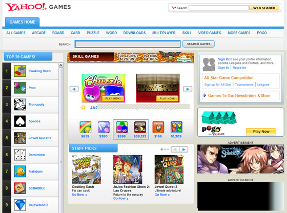 Classic Kid Games Website