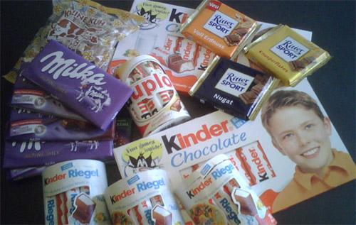 Mmmm.... chocolates
