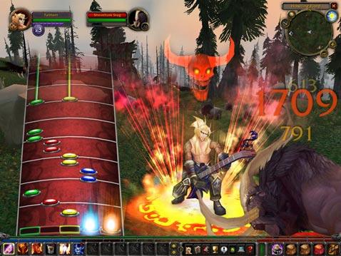 Jazz it up, World of Warcraft style.