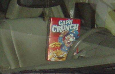 Cap N Crunch can do 0-60 in 6.8 sec!
